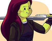 Gamora (Marvel Cinematic Universe MCU)