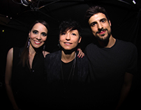 Carolina Limón con Magda, Alex Rubio y Trescientos