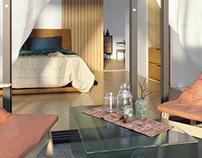 6x8 apartment