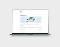 Crowdholding platform UI, brand & design system