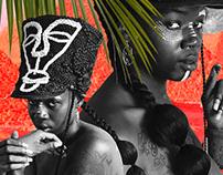 Nneka Gigi // Hair Sculpture Art + Animation