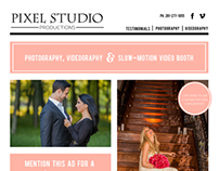 Pixel Studio | Email Newsletter Design