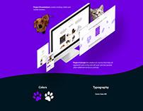 UX / UI design for Pets sale platform