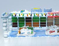 SNBG Stand Design supermarket