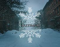 Snowflake Graphics: Winter Storm Jonas