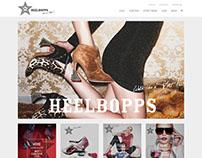 WEBSITE & ONLINE-STORE for Heelboops