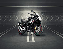 Suzuki Gixxer & Gixxer SF - Automobile Photography
