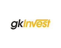 GKInvest Logo Design