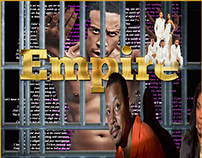"Television series ""Empire"" design by Felicia Baker"