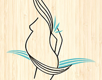 Business card Masajista Prenatal