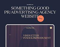 Something Good: PR/Marketing Agency Website