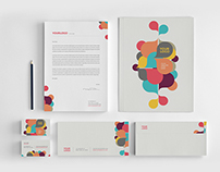 Colorful Kids Circles Stationery