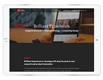 Brilliant Experience Website