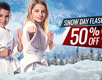 Martial Arts Seasonal Facebook Ads