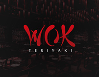 WOK Teriyaki - Logo, Menu and Packing