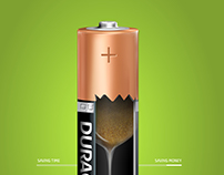 Duracell ¹ ® § Ade by starone creative studios