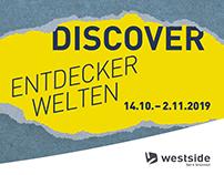 """Westside Bern Brünnen –""""Discover"""" Campaign"""