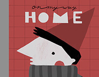 "picture book ""On my way home"""