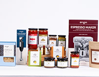 Origin Foods and Appliances Packaging