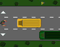 """First Video Game - """"SCHOOL BUS ESCAPE"""""""