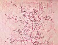 Paul Klee - Pink Spring in deep Winter