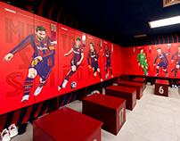 FC BARCELONA - LOCKER ROOM