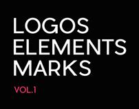Logos, elements & marks