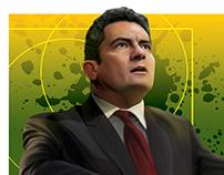 The Great Judge Sergio Moro - Digital Illustration