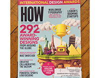 "HOW Magazine ""Int'l Design Awards"" Cover - Spring 2017"