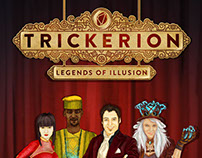 Trickerion - Legends of illusion artworks