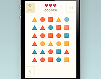 Match 3 Game - Flat Design