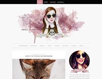 Follow Cíntia | Blog layout