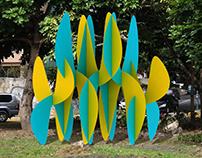 Ideas for public art Los Naranjos 2014