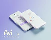 Avi - Baby Name Generator App