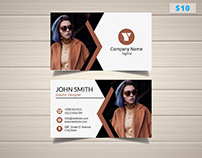 Fashion Blogger Business Card