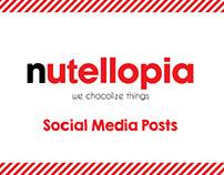 Nutellopia - Social Media