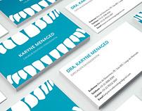 Cartão de visita // Drª Karyne Menaged