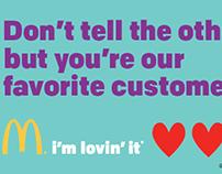 McDonald's Love Notes