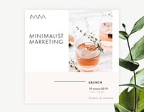 Minimalist Marketing | Brandbook