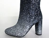 Ombre Glitter Boot