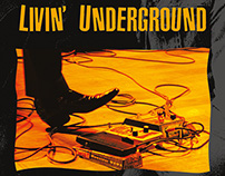 V/A - Living Underground  2LP+CD