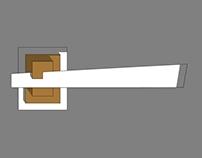 """""""Quadra"""" door handles"""