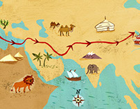 Marco Polo's Journey Maps
