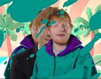 Ed Sheeran Twitter Present Campaign