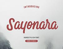 Sayanara Font