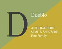 Dueblo Font Family
