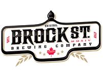 Brock St. Brewing Company Logo Design