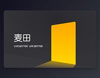 MaiTian online Brand Design