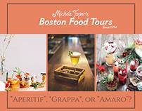 Boston Food Tours Michele Topor's FB ads