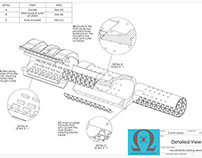Omega hygiene - Production drawings